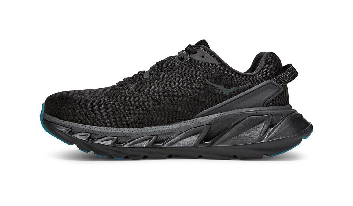 Women's Hoka One One Elevon 2 Running Shoe - Color: Black/Dark Shadow (Regular Width) - Size: 6.5, Black/Dark Shadow, large, image 2