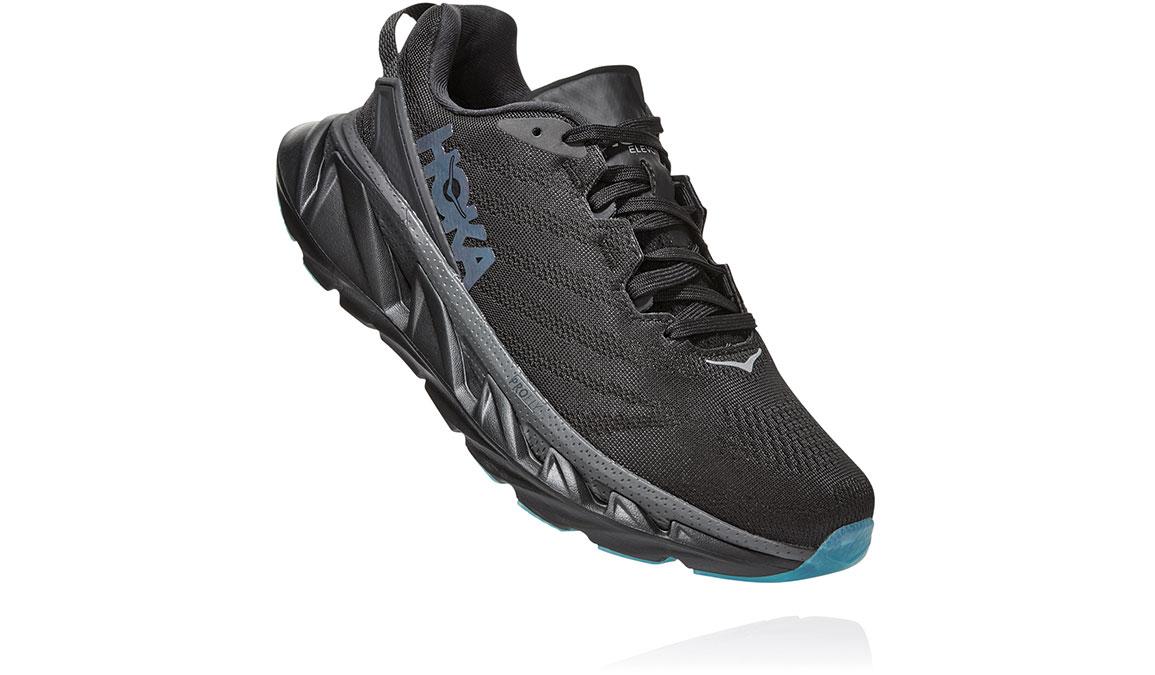 Women's Hoka One One Elevon 2 Running Shoe - Color: Black/Dark Shadow (Regular Width) - Size: 6.5, Black/Dark Shadow, large, image 3