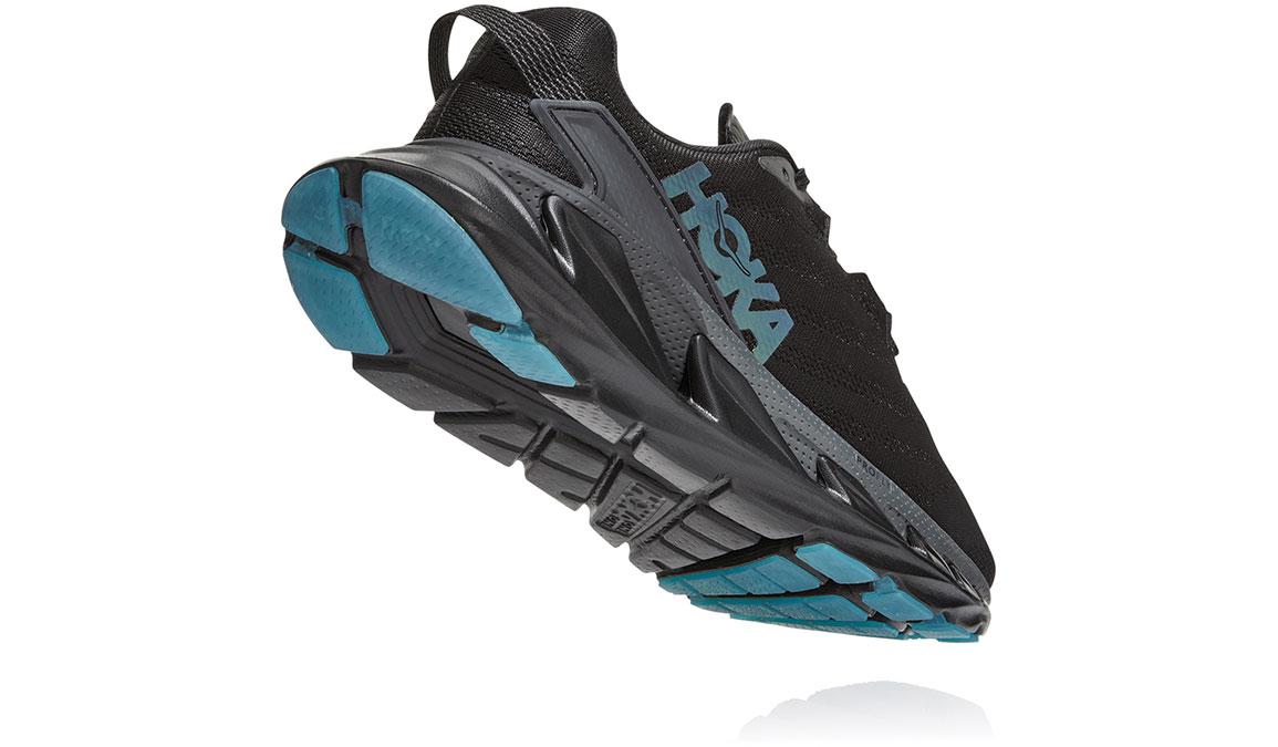 Women's Hoka One One Elevon 2 Running Shoe - Color: Black/Dark Shadow (Regular Width) - Size: 6.5, Black/Dark Shadow, large, image 4