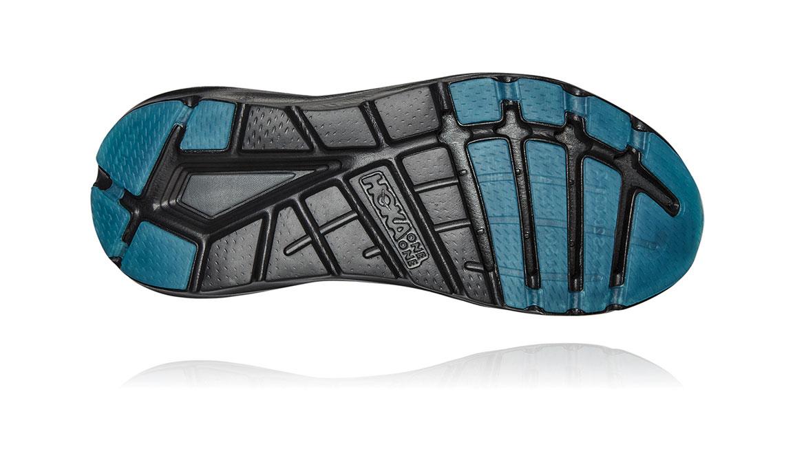Women's Hoka One One Elevon 2 Running Shoe - Color: Black/Dark Shadow (Regular Width) - Size: 6.5, Black/Dark Shadow, large, image 6