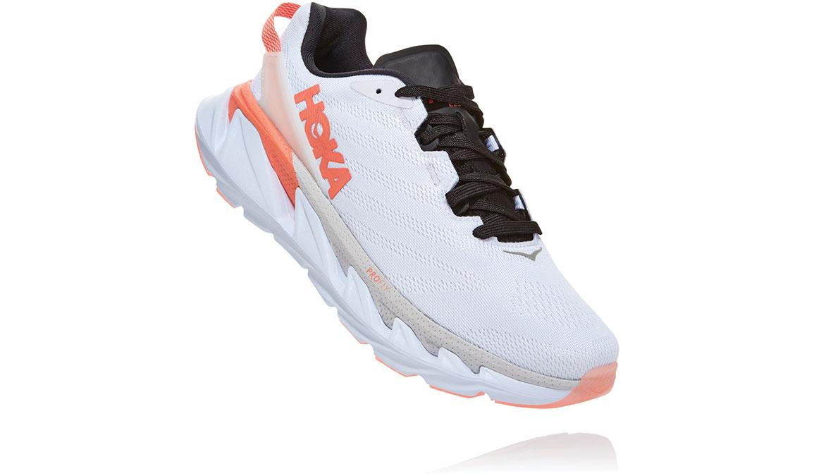 Women's Hoka One One Elevon 2 Running Shoe - Color: White/Nimbus Cloud (Regular Width) - Size: 6.5, White/Nimbus Cloud, large, image 3