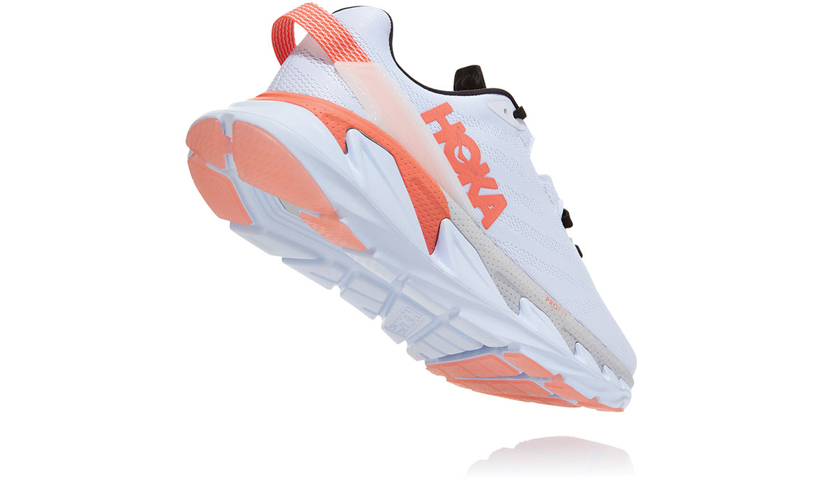Women's Hoka One One Elevon 2 Running Shoe - Color: White/Nimbus Cloud (Regular Width) - Size: 6.5, White/Nimbus Cloud, large, image 4