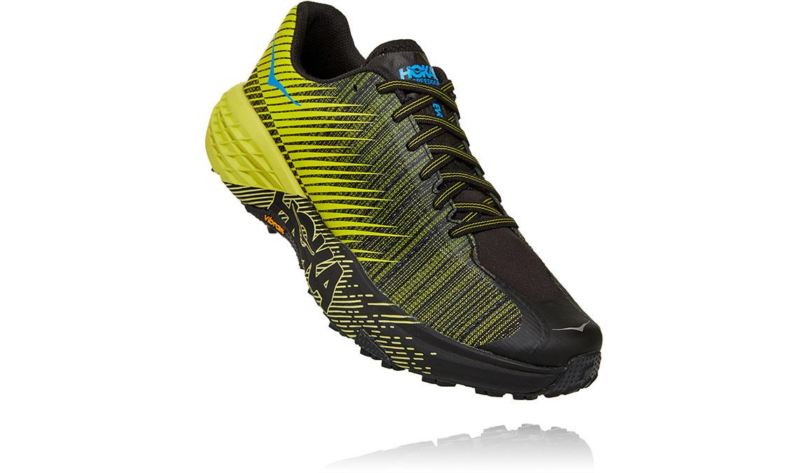 Women's Hoka EVO Speedgoat Trail Running Shoe - Color: Citrus/Black (Regular Width) - Size: 5, Citrus/Black, large, image 3