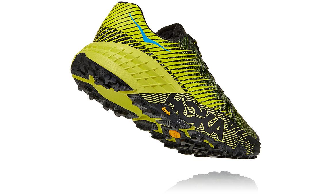 Women's Hoka EVO Speedgoat Trail Running Shoe - Color: Citrus/Black (Regular Width) - Size: 5, Citrus/Black, large, image 4