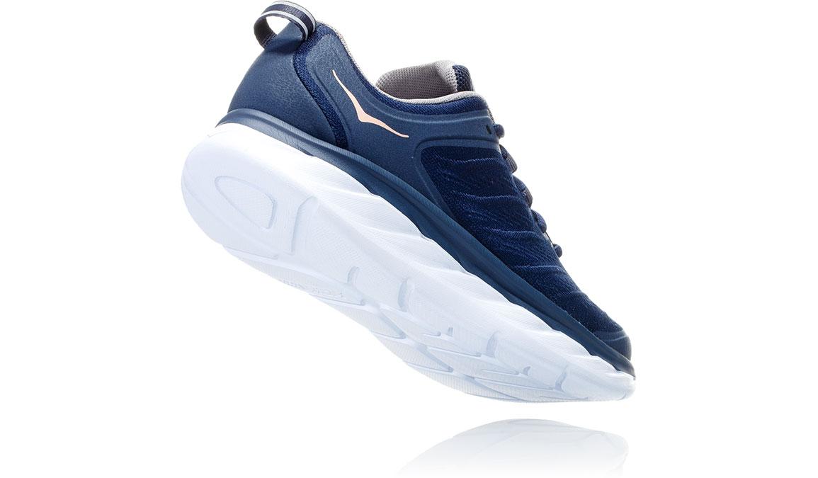 Women's Hoka One One Akasa Running Shoe - Color: Mood Indigo/Dusty Pink (Regular Width) - Size: 6.5, Mood Indigo/Dusty Pink, large, image 3