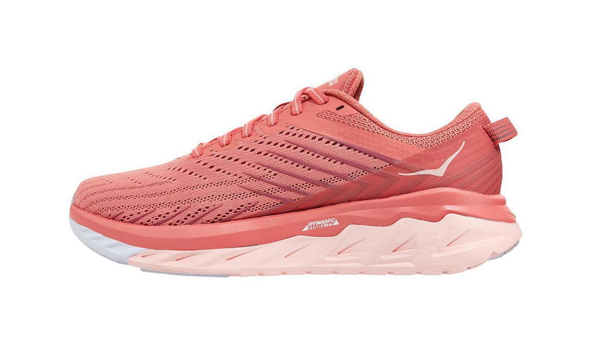 Women's Hoka One One Arahi 4 Running Shoe - Color: Lantana/Heather Rose (Regular Width) - Size: 7, Lantana/Heather Rose, large, image 2