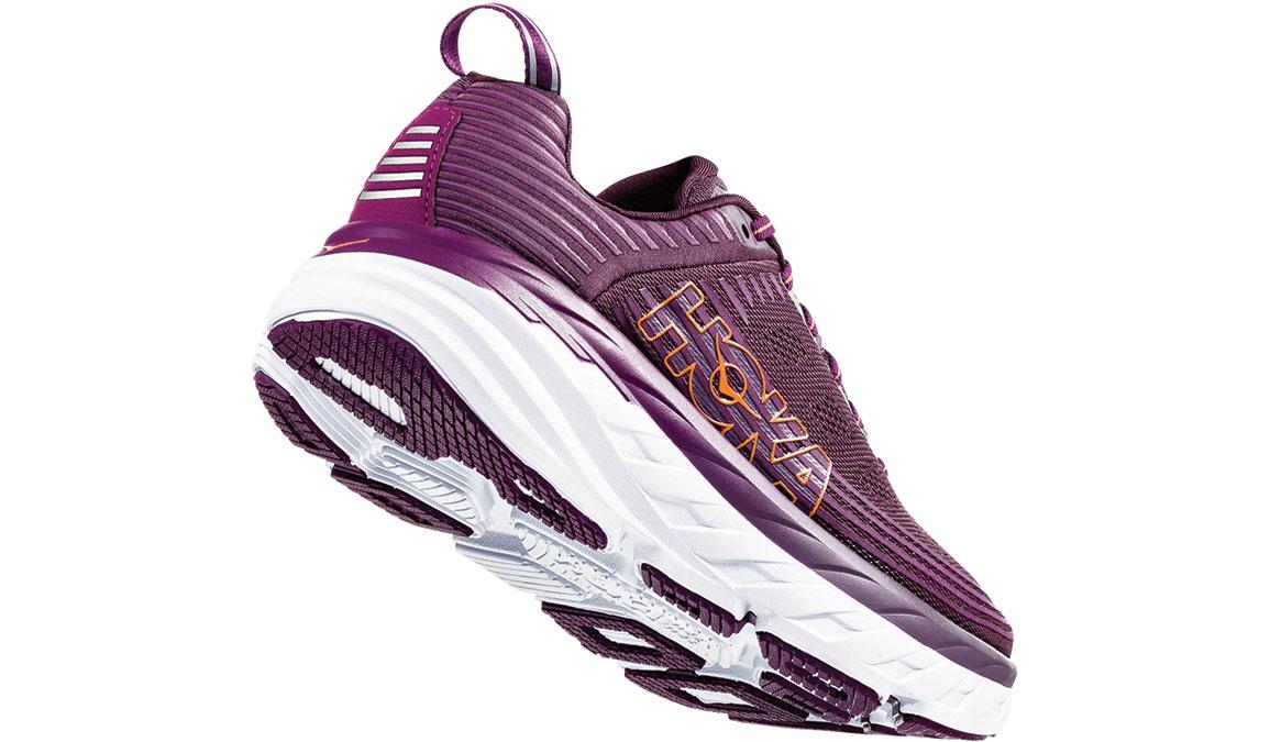 Women's Hoka One One Bondi 6 Running Shoe - Color: Arctic Dusk/Grape Juice (Regular Width) - Size: 5, Arctic Dusk/Grape Juice, large, image 3