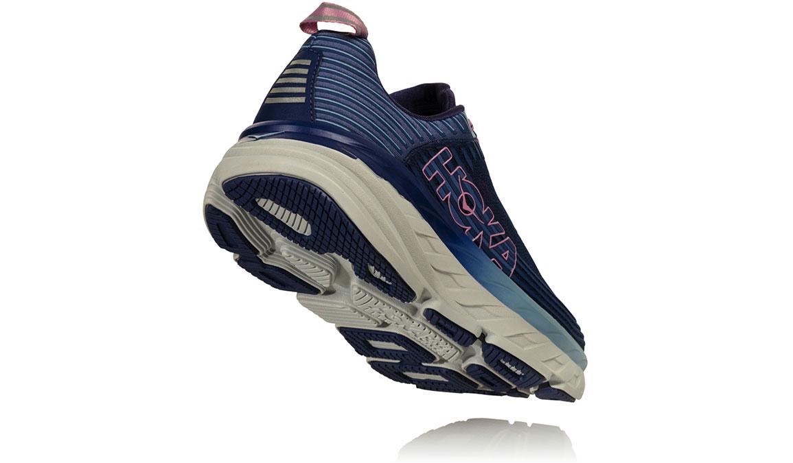 Women's Hoka One One Bondi 6 Running Shoe - Color: Marlin/Blue Ribbon (Regular Width) - Size: 6.5, Marlin/Blue Ribbon, large, image 3