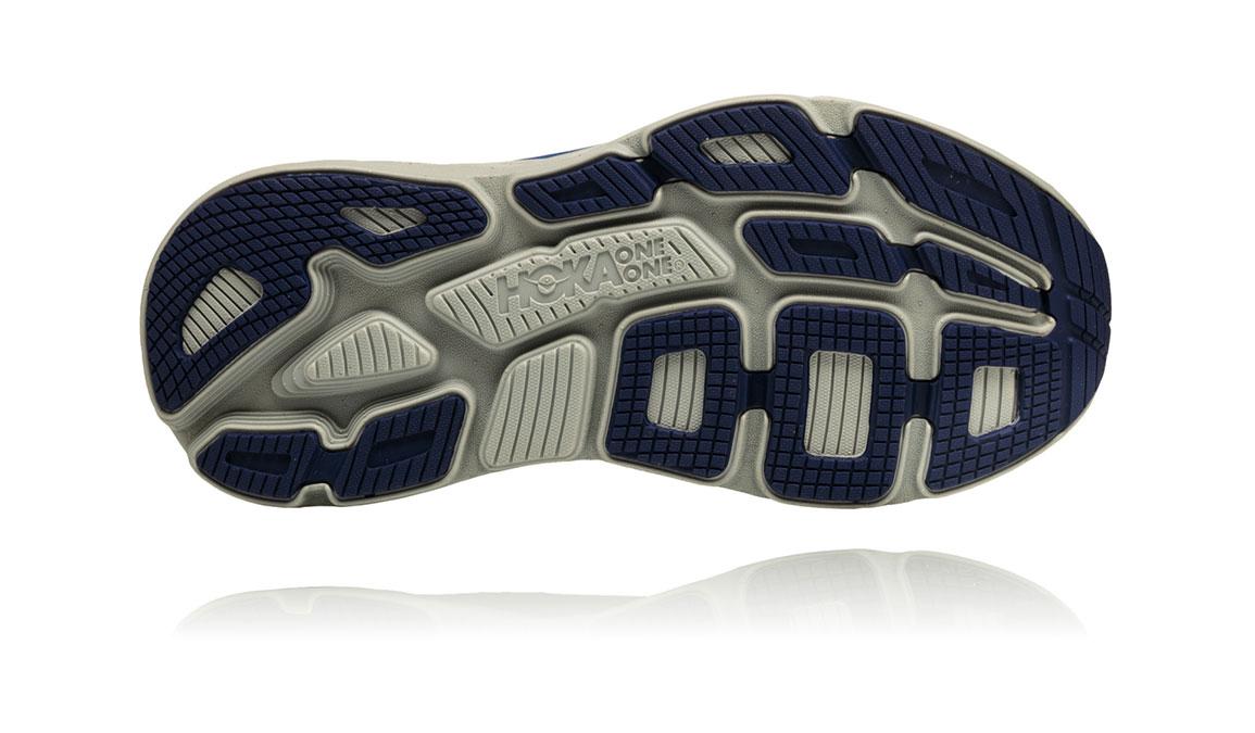 Women's Hoka One One Bondi 6 Running Shoe - Color: Marlin/Blue Ribbon (Regular Width) - Size: 6.5, Marlin/Blue Ribbon, large, image 6