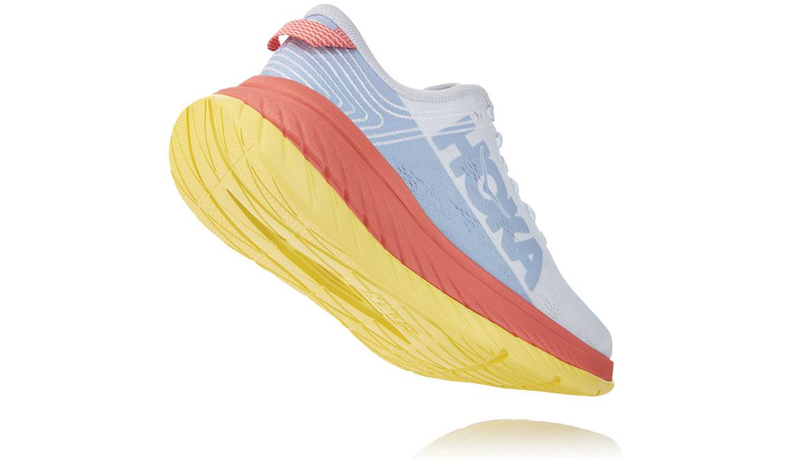 Women's Hoka One One Carbon X Running Shoe - Color: Nimbus Cloud/Lantana (Regular Width) - Size: 5, Nimbus Cloud/Lantana, large, image 4