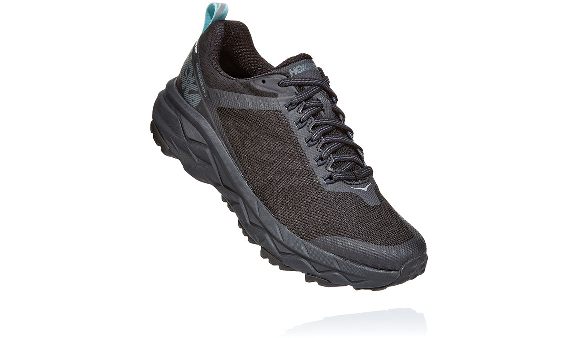 Women's Hoka One One Challenger ATR 5 Gore-Tex Trail Running Shoe - Color: Black/Antigua Sand (Regular Width) - Size: 5.5, Black/Antigua Sand, large, image 3