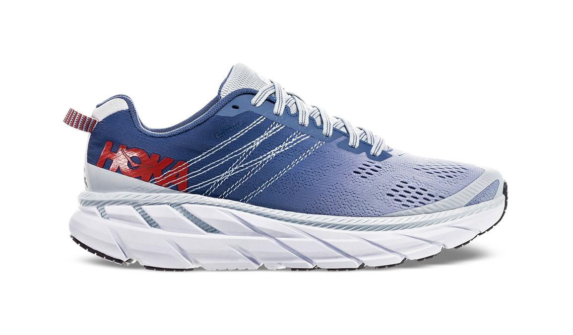 Women's Hoka One One Clifton 6 Running Shoe - Color: Plein Air/Moonlight Blue (Regular Width) - Size: 6.5, Plein Air/Moonlight Blue, large, image 1
