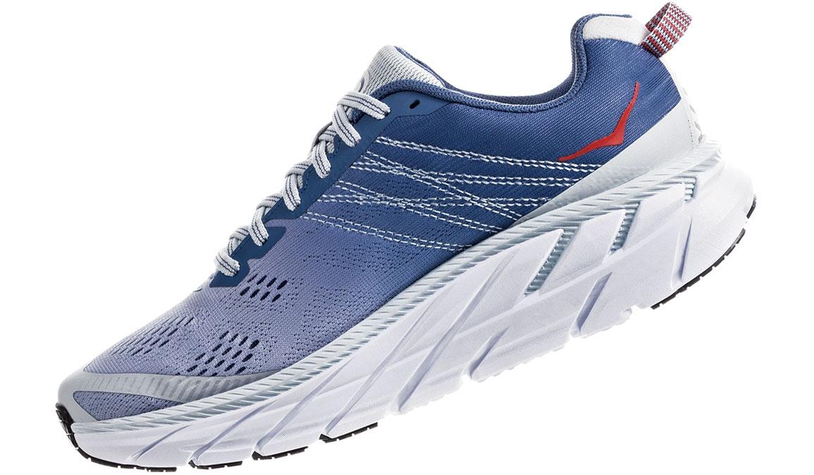 Women's Hoka One One Clifton 6 Running Shoe - Color: Plein Air/Moonlight Blue (Regular Width) - Size: 6.5, Plein Air/Moonlight Blue, large, image 4
