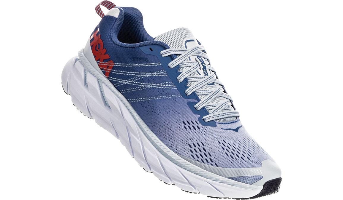 Women's Hoka One One Clifton 6 Running Shoe - Color: Plein Air/Moonlight Blue (Regular Width) - Size: 6.5, Plein Air/Moonlight Blue, large, image 2