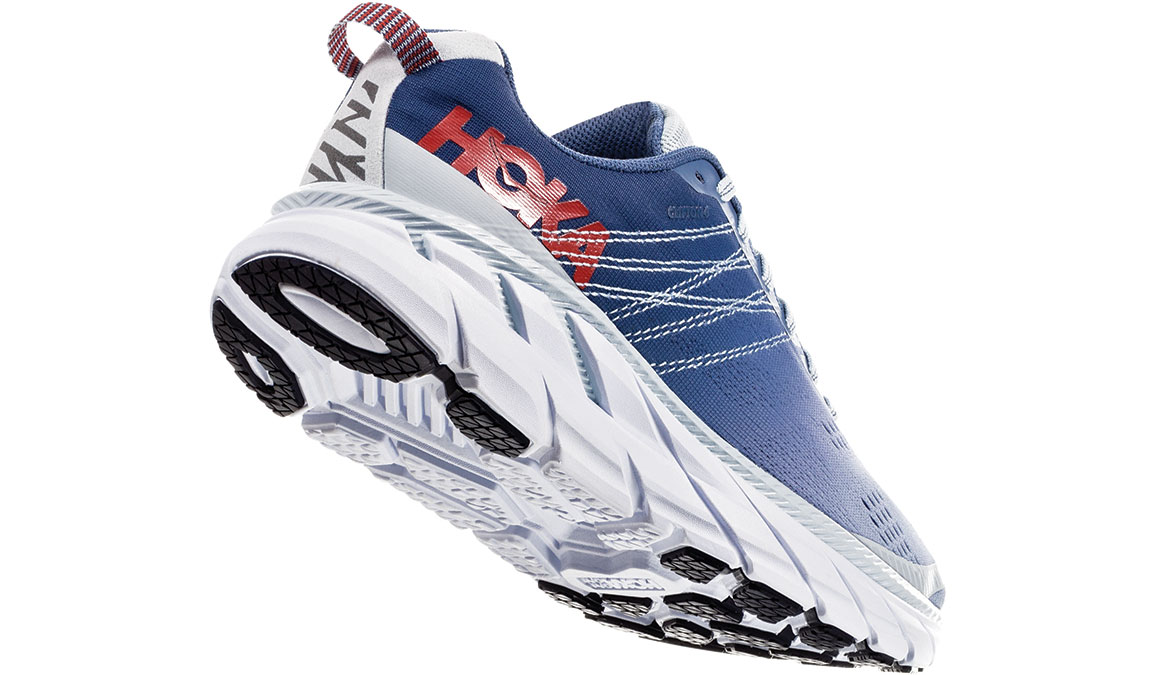 Women's Hoka One One Clifton 6 Running Shoe - Color: Plein Air/Moonlight Blue (Regular Width) - Size: 6.5, Plein Air/Moonlight Blue, large, image 3