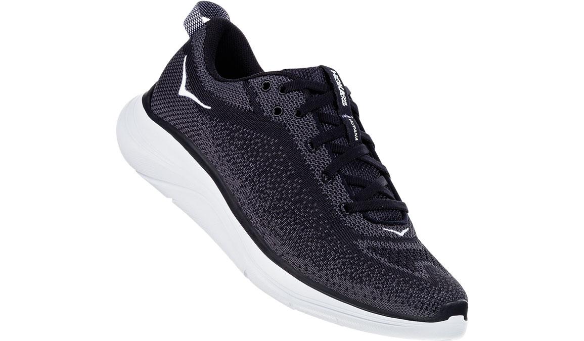 Women's Hoka One One Hupana Flow Running Shoe - Color: Black/Dark Shadow (Regular Width) - Size: 5, Black/Dark Shadow, large, image 2