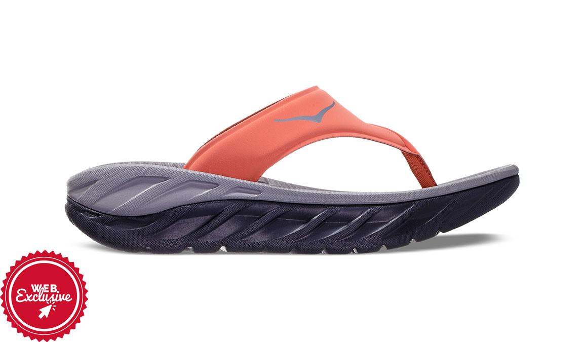 HOKA ONE ONE Womens Ora Recovery Flip 2 Thong Sandals