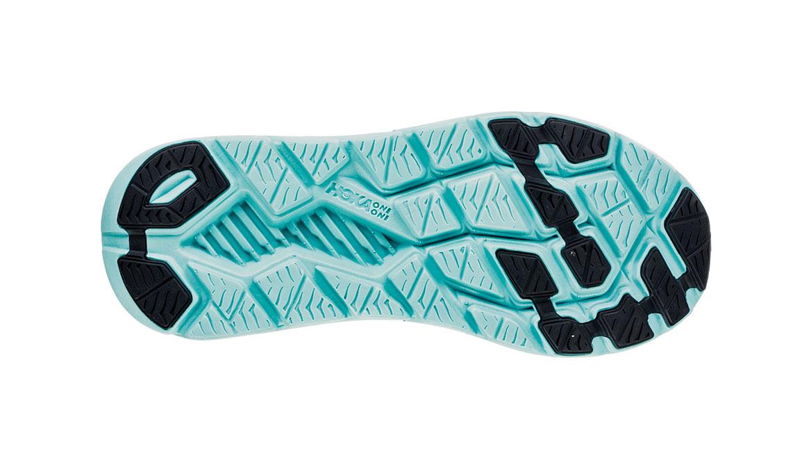 Women's Hoka One One Rincon Running Shoe - Color: Charcoal Grey/Aqua Sky (Regular Width) - Size: 6.5, Charcoal Grey/Aqua Sky, large, image 6