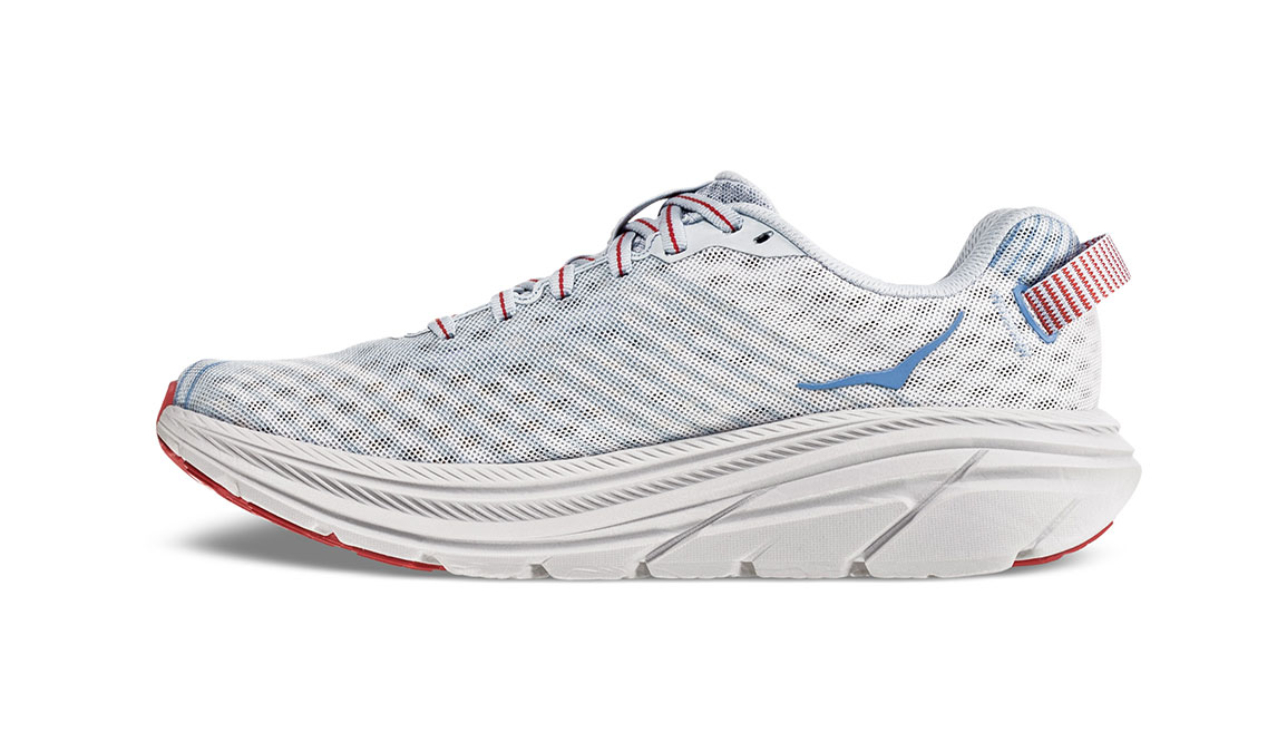 Women's Hoka One One Rincon Running Shoe - Color: Plein Air/Placid Blue (Regular Width) - Size: 9.5, Plein Air/Placid Blue, large, image 2