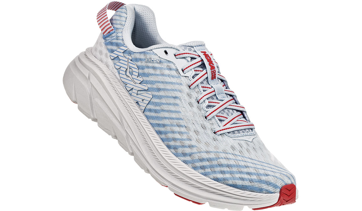 Women's Hoka One One Rincon Running Shoe - Color: Plein Air/Placid Blue (Regular Width) - Size: 9.5, Plein Air/Placid Blue, large, image 3