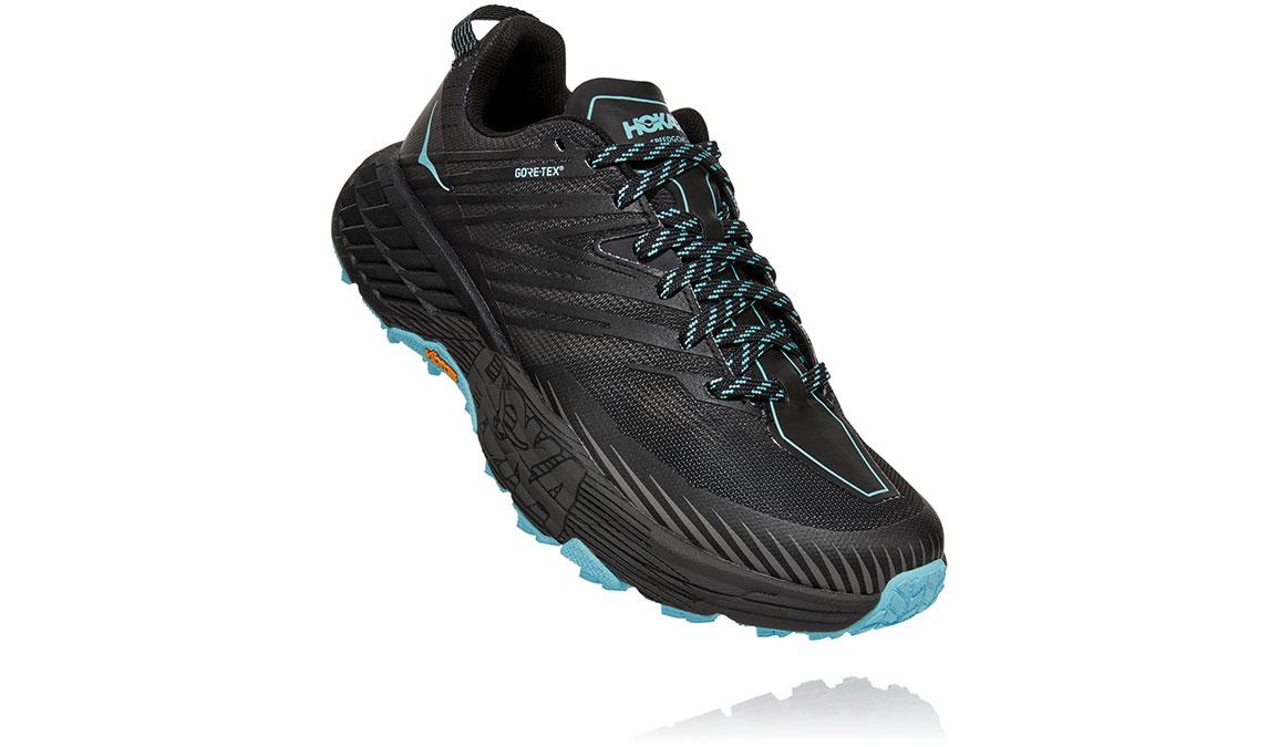 Women's Hoka One One Speedgoat 4 Gore-Tex Trail Running Shoe - Color: Anthracite/Dark Gull Grey (Regular Width) - Size: 5, Anthracite/Dark Gull Grey, large, image 3