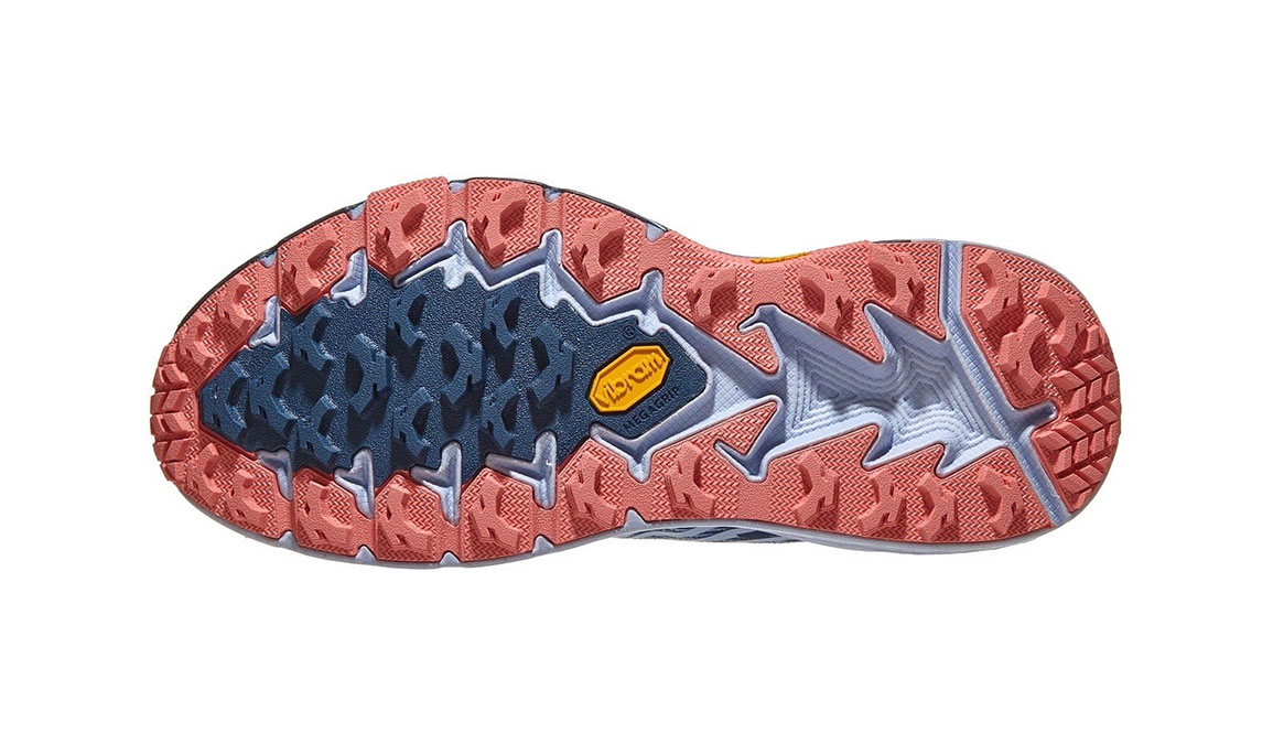 Women's Hoka One One Speedgoat 4 Trail Running Shoe - Color: Majolica Blue/Heather (Regular Width) - Size: 5, Majolica Blue/Heather, large, image 4