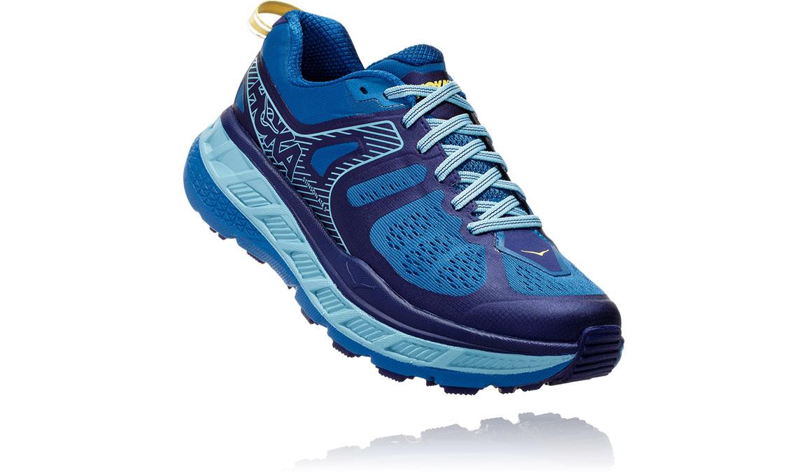 Women's Hoka One One Stinson ATR 5 Trail Running Shoe - Color: Seaport/Aqua Haze (Regular Width) - Size: 5, Seaport/Aqua Haze, large, image 2