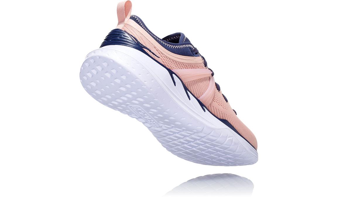 Women's Hoka One One Tivra Training Shoes - Color: Dusty Pink/Mood Indigo (Regular Width) - Size: 5, Dusty Pink/Mood Indigo, large, image 4