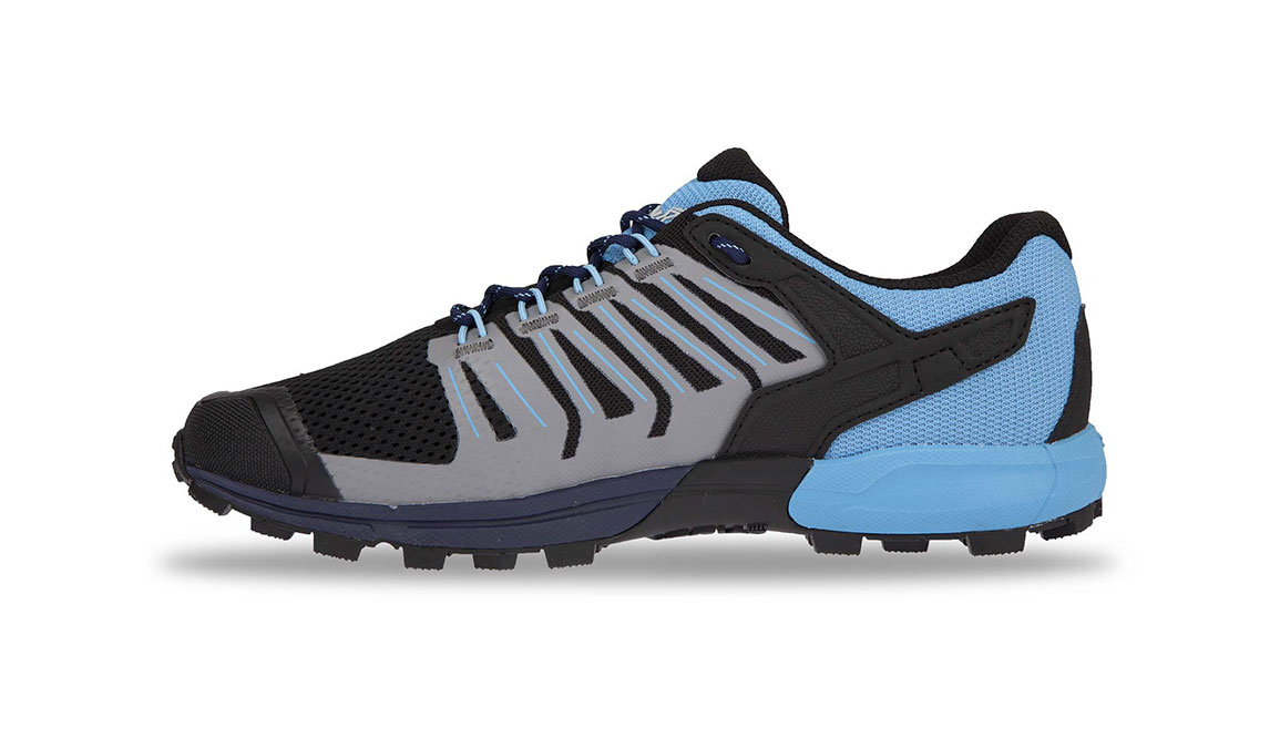 Women's Inov-8 ROCLITE 275 Trail Running Shoe - Color: Navy/Blue (Regular Width) - Size: 6, Navy/Blue, large, image 3