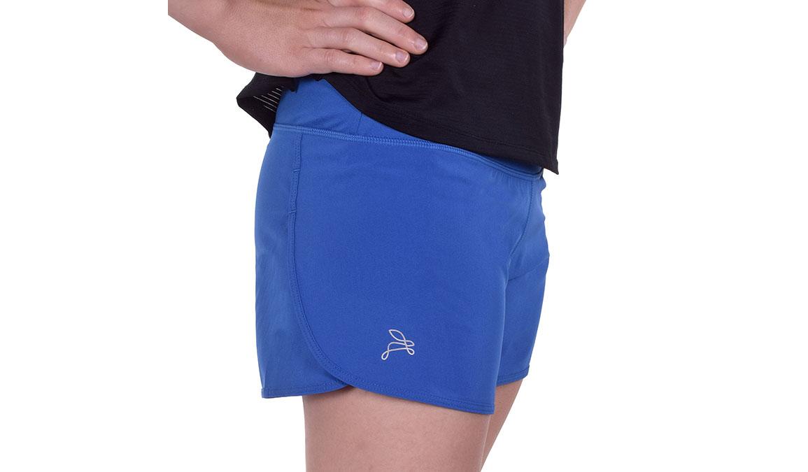 """Women's JackRabbit 5"""" Shorts - Color: Deep Blue Size: L, Blue, large, image 1"""