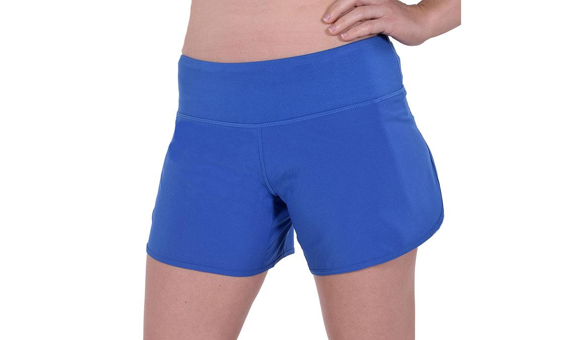 """Women's JackRabbit 5"""" Shorts - Color: Deep Blue Size: L, Blue, large, image 2"""