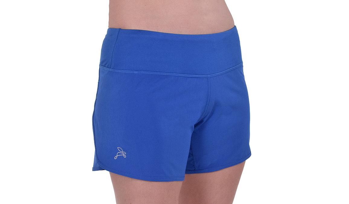 """Women's JackRabbit 5"""" Shorts - Color: Deep Blue Size: L, Blue, large, image 3"""