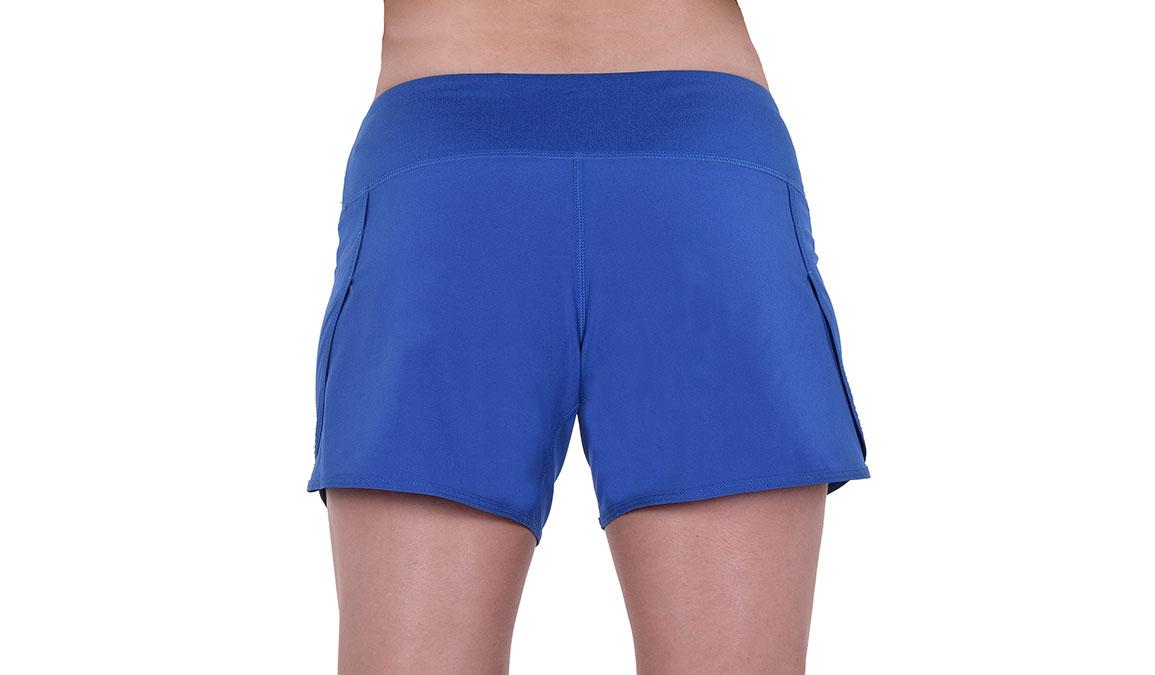 """Women's JackRabbit 5"""" Shorts - Color: Deep Blue Size: L, Blue, large, image 4"""