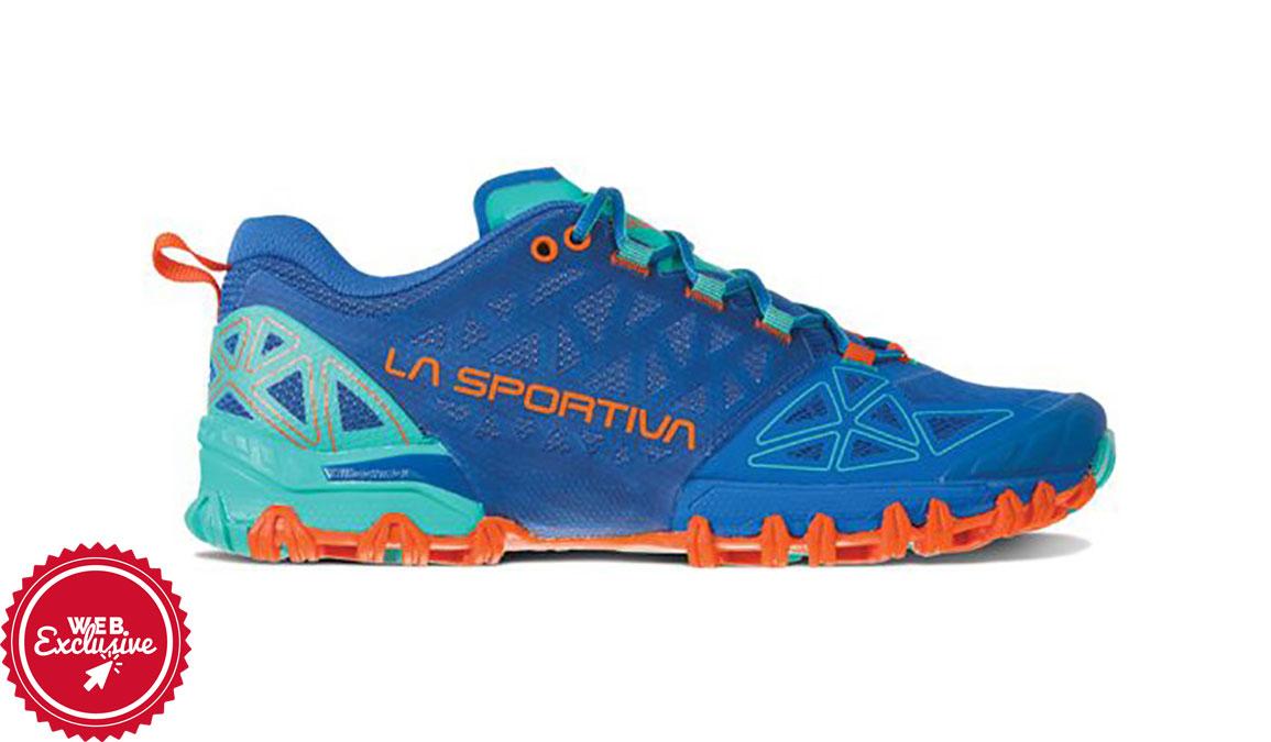 Women's La Sportiva Bushido II Trail Running Shoe - Color: Marine Blue/Aqua (Regular Width) - Size: 6, Marine, large, image 1