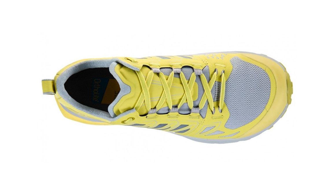 Women's La Sportiva Jackal Trail Running Shoe - Color: Celery/Kiwi (Regular Width) - Size: 6.5, Yellow/Grey, large, image 3