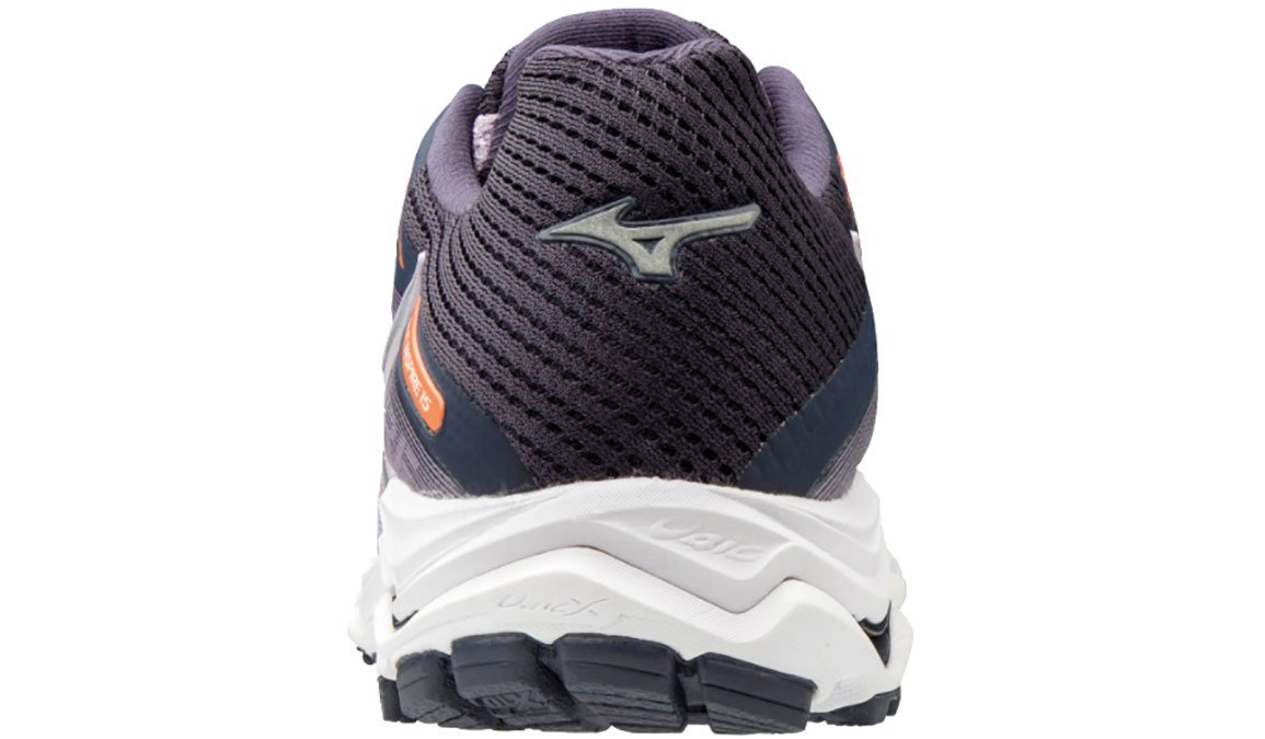 Women's Mizuno Wave Inspire 15 Running Shoe - Color: Lavender Frost/Silver (Regular Width) - Size: 12, Lavender Frost/Silver, large, image 4