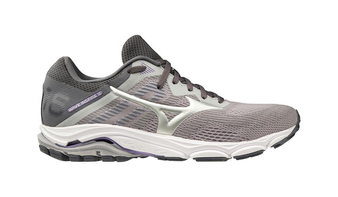Women's Mizuno Wave Inspire 16 Running Shoe - Color: Vapor Blue/Silver (Regular Width) - Size: 7, Vapor Blue/Silver, large, image 1