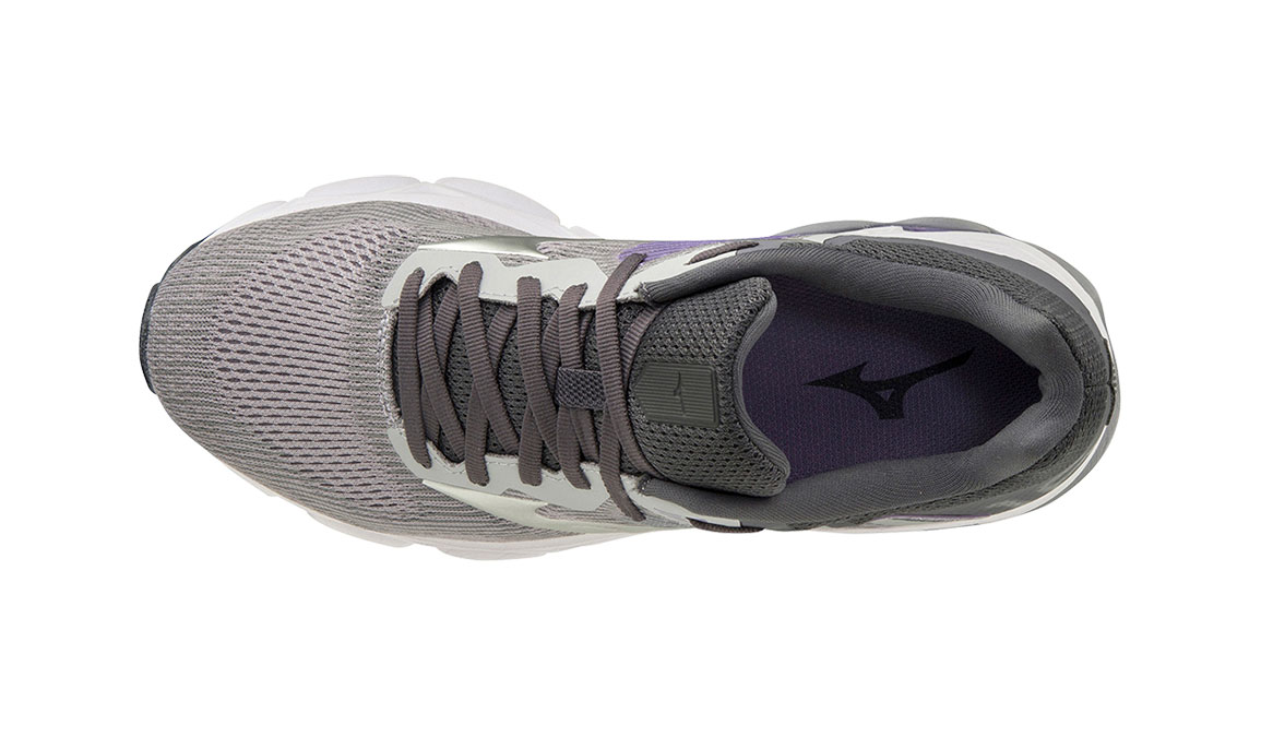 Women's Mizuno Wave Inspire 16 Running Shoe - Color: Vapor Blue/Silver (Regular Width) - Size: 7, Vapor Blue/Silver, large, image 4