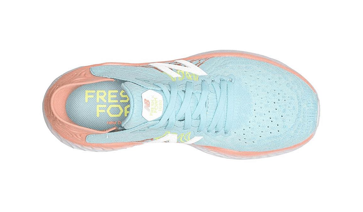 Women's New Balance 1080V10 Running Shoe - Color: Bali Blue (Regular Width) - Size: 6.5, Blue, large, image 4