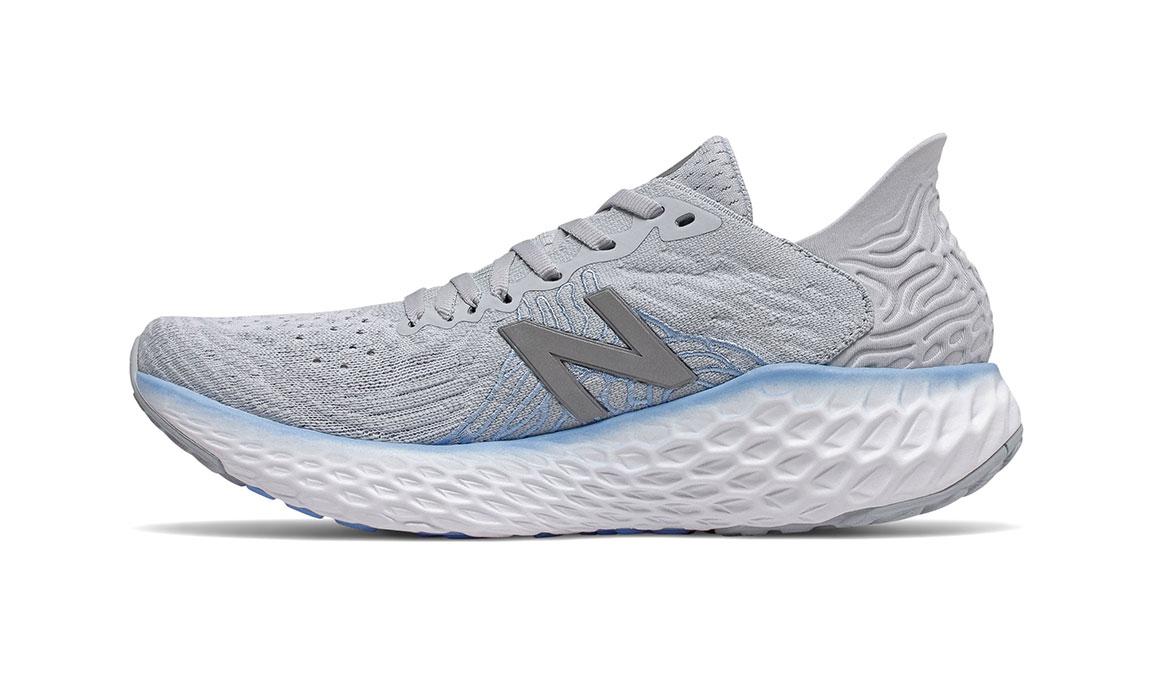 Women's New Balance Fresh Foam 1080v10 Running Shoe - Color: Light Cyclone (Regular Width) - Size: 6, Grey, large, image 4