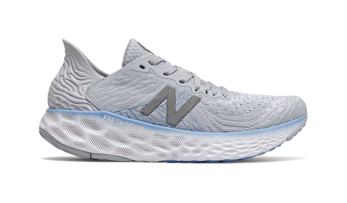 Women's New Balance Fresh Foam 1080v10 Running Shoe - Color: Light Cyclone (Regular Width) - Size: 6, Grey, large, image 1