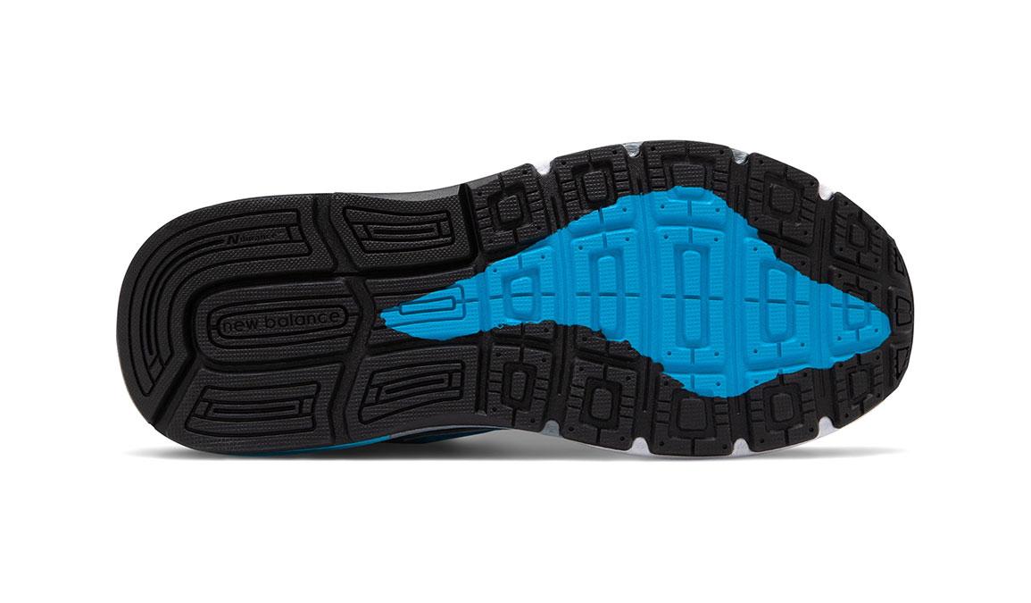 Women's New Balance 1540v3 Walking Shoe - Color: Silver/Polaris (Regular Width) - Size: 9, Silver/Blue, large, image 4