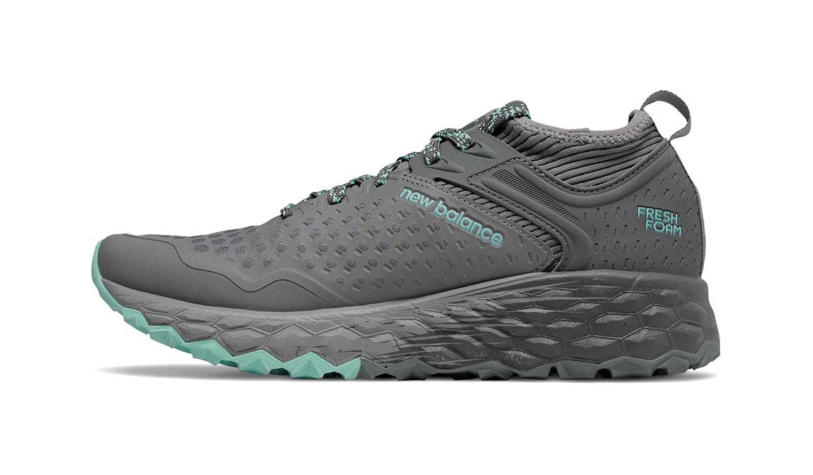 Women's New Balance Fresh Foam Hierro v4 Trail Running Shoe - Color: Lead/Gunmetal (Regular Width) - Size: 5, Lead, large, image 2