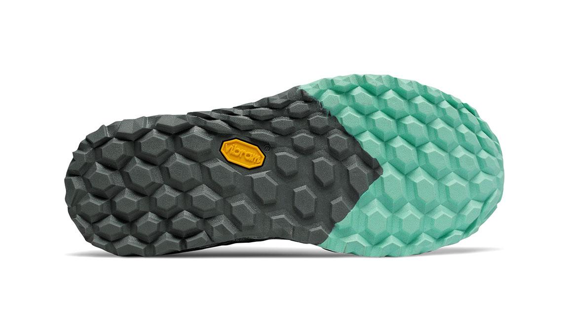 Women's New Balance Fresh Foam Hierro v4 Trail Running Shoe - Color: Lead/Gunmetal (Regular Width) - Size: 5, Lead, large, image 4