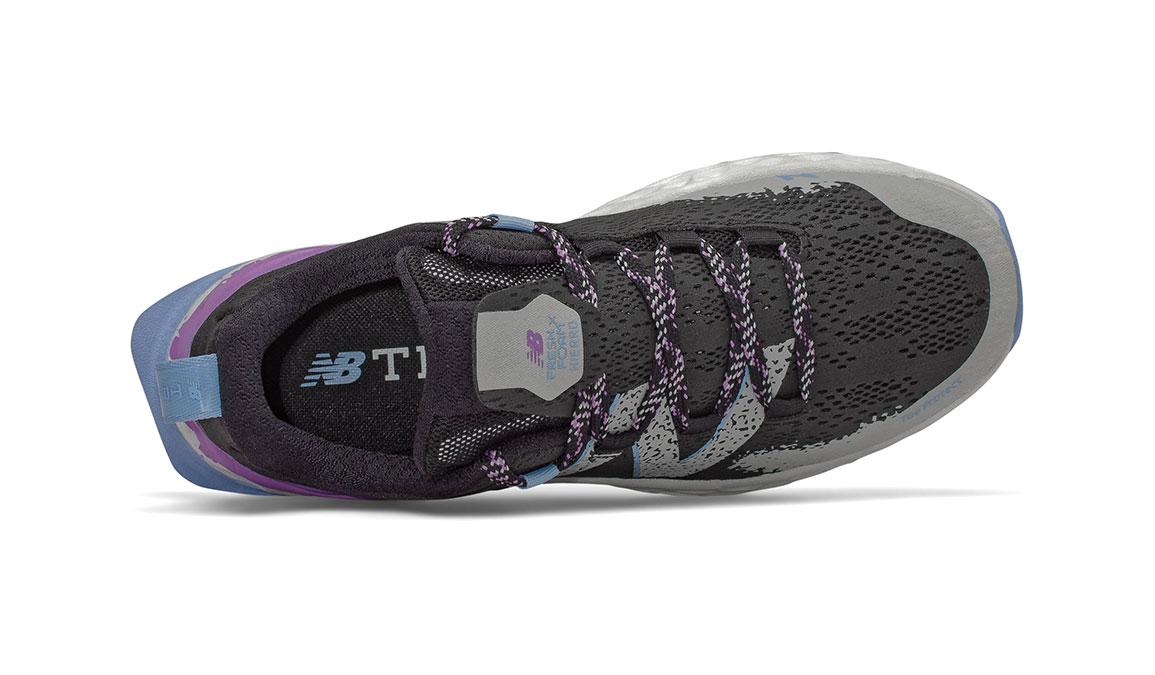 Women's New Balance Fresh Foam Hierro v5 Trail Running Shoe - Color: Black/Neo Violet (Regular Width) - Size: 7, Black/Purple, large, image 3