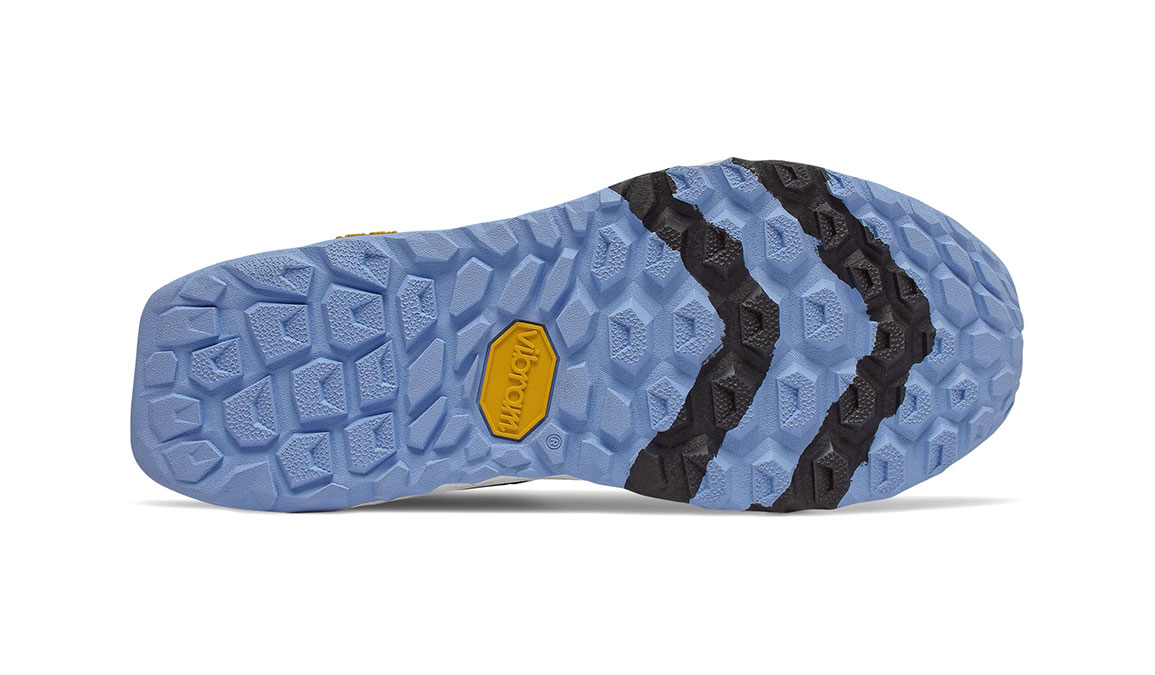 Women's New Balance Fresh Foam Hierro v5 Trail Running Shoe - Color: Black/Neo Violet (Regular Width) - Size: 7, Black/Purple, large, image 4