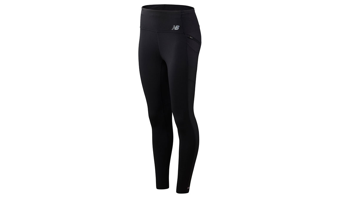 Women's New Balance Impact Run HEAT Tight - Color: Black Size: M, Black, large, image 1