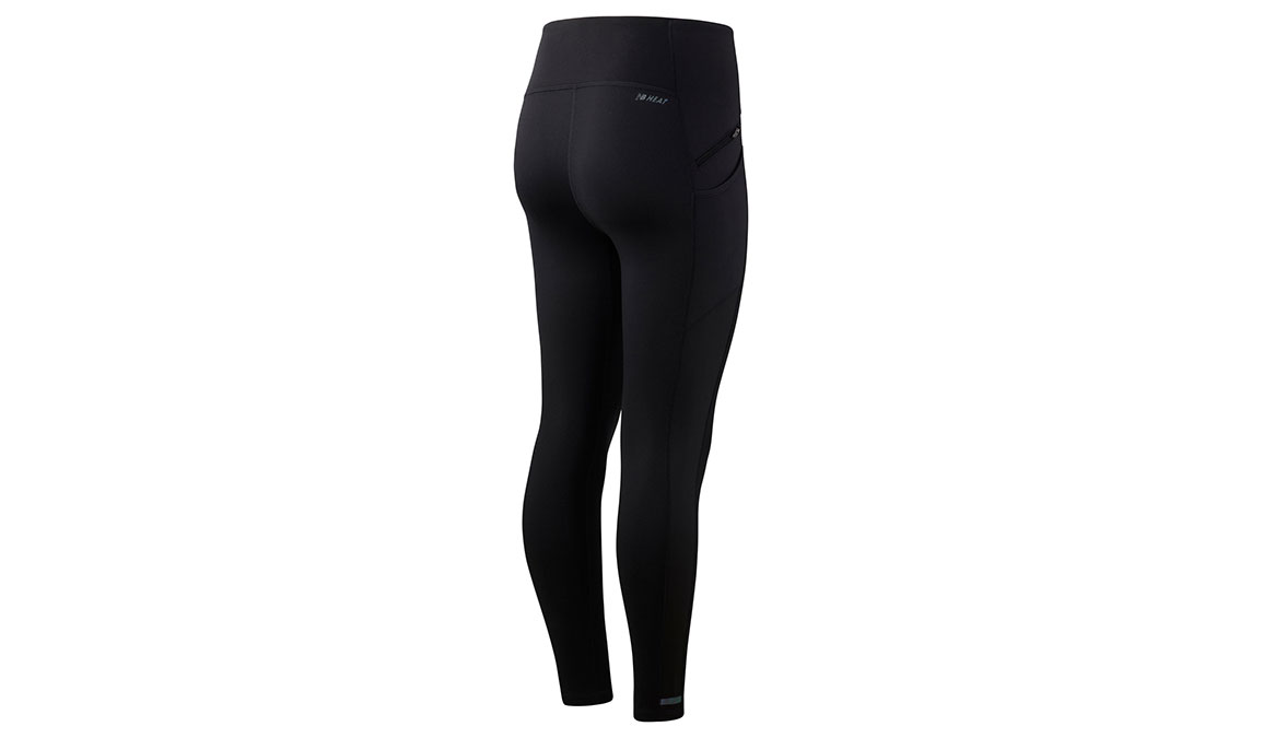 Women's New Balance Impact Run HEAT Tight - Color: Black Size: M, Black, large, image 2