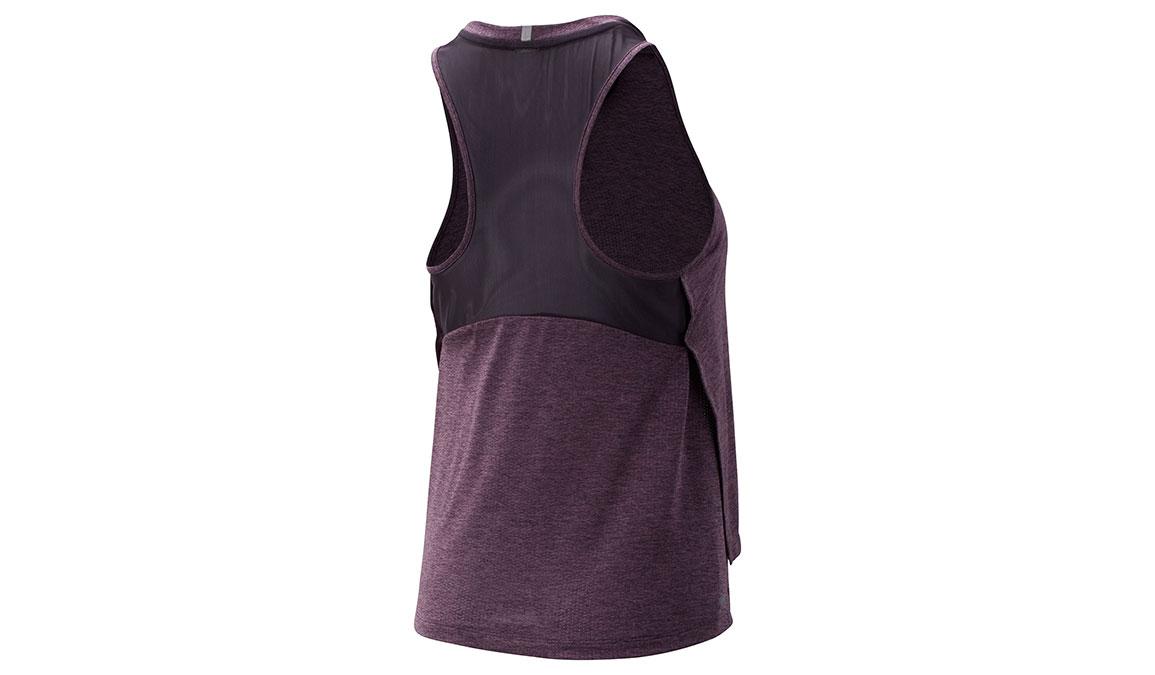 Women's New Balance Impact Run Mesh Tank - Color: Violet Size: M, Violet, large, image 2