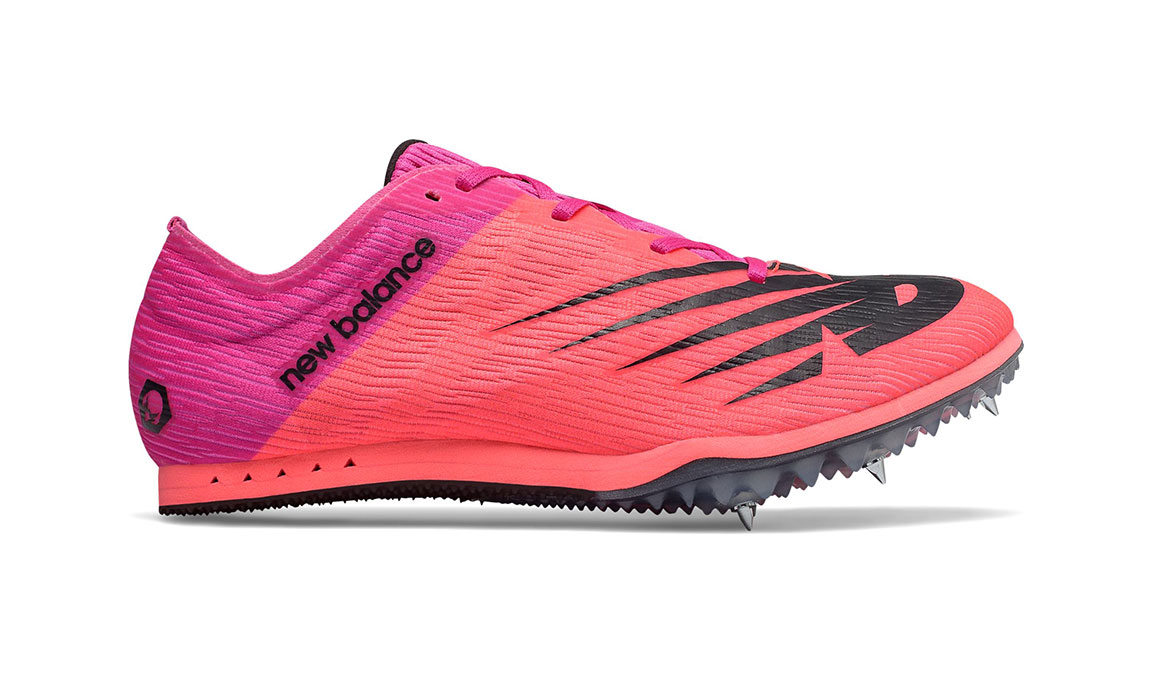 Women's New Balance MD500v7 Track Spikes - Color: Guava (Regular Width) - Size: 6.5, Guava, large, image 1